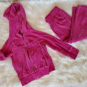 Perfect Girl's Pink Jogger Set!  (3T)